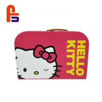 Buy cheap Cute Baby Cardboard Suitcase Box CMYK Or Custom Color Appearance FS Brand from wholesalers