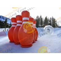China 3.6m Big Inflatable Sport Balloons , UV Protected Printing Outdoor Inflatable Bowling wholesale