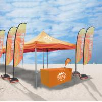 China Promotional Events Trade Show Tents Custom Logo Printed Extendable Legs wholesale