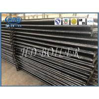 China Steel Cold Finished Boiler Fin Tube / H Type Finned Tube Heat Exchanger wholesale