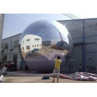 China Commercial Inflatable Advertising Balloons , 6m Big Inflatable Mirror Ball wholesale