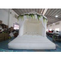 China ASTM Waterproof 4*4*5M 18oz Wedding Bounce House wholesale