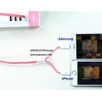 China Remax 2 in 1 Data Cable For Iphone And Micro USB Charging Data Cable wholesale