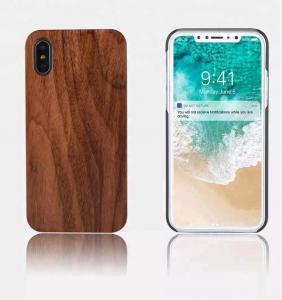 China OEM / ODM DIY Wood iPhone Case , PC Plastic Blank Custom Wood Phone Case on sale