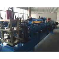 China 7.5kw Flatten System Rack Roll Forming Machine 14 Stations + One Stations Of Rectify wholesale