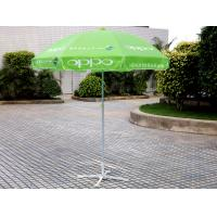 China Windproof Beach Market Umbrella Green wholesale