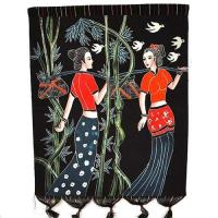 China Batik painting,picture,wall hanging,home decor,folk crafts,folk arts,handicrafts wholesale