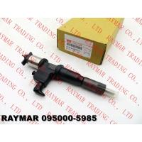 Buy cheap DENSO Common rail fuel injector 095000-5985 for ISUZU 8976030990, 8976030991, 8976030992, 8976030995, 8-97603099-0 from wholesalers