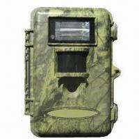 China 8.0MP water-resistant hunting trail game camera with flash light, color images in day and night on sale