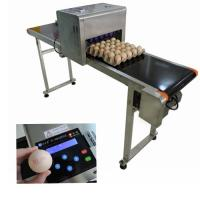 China Computer Control Egg Industrial Inkjet Printing Machines For Batch Number wholesale