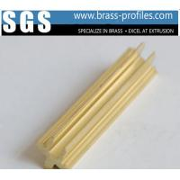 China Customized Copper Alloy Shapes And DIY Lengths Decorative Brass Profiles wholesale