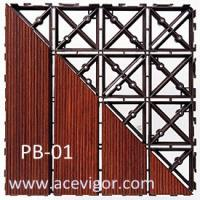 Quality PB-01 Interlocking Plastic Base, Plastic mats, Plastic tile for sale