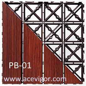 China PB-01 PP plastic interlock floor mats wholesale