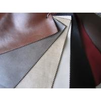 China Embossed Leather Car Upholstery Fabric , Leather Car Seat Material wholesale