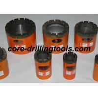 China HMLC NMLC Impregnated Diamond Core Drill Bits For Soft Hard Rock wholesale