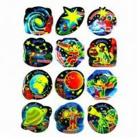 China Glow in dark luminous stickers, used for promotional gifts, advertisement and premiums, SGS standard wholesale