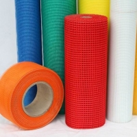 China Different colors fiberglass self - adhesive net used for construction material on the wall wholesale