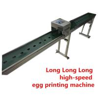 China Moving Convenient 1-6 Nozzle Egg Printer Machine For Chicken Farm Production Line wholesale