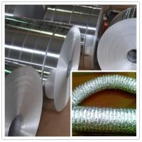 China Industrial Aluminum Foil  8011 8079  0.08mm to 0.11 mm  for Pipe & Duct  with width 50mm to 61mm wholesale
