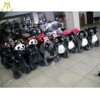 China Hansel Motorized Animals 4 Wheels Bicycle Toy Ride Stuffed Animals With Wheels on sale