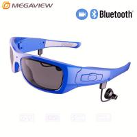 China Sport Gadgets Wireless Bluetooth Camera Glasses With Rechargable Battery wholesale