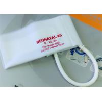 China Neonatal 3 Pediatric Blood Pressure Cuff Disposable , NIBP CUFF for Hospital wholesale