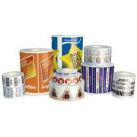 China Rose Oil Food Packaging Labels Roll Custom Shapes Eco Friendly on sale