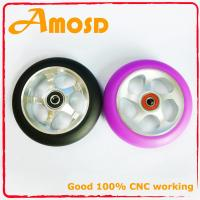 Quality Pro Aluminium Metal Core Kids and Adult Kick Stunt PU Scooters Wheels for sale