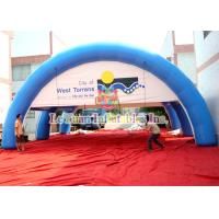 China Sealed Air Advertising Inflatable Airtight Tent PVC Sport Spider Tent Water Resistance wholesale