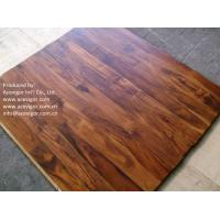 China Small Leaf Acacia Solid Flooring, Chinese Walnut Solid Flooring wholesale