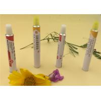 Recyclable Aluminum Eye Ointment Tube Epoxy Phenolic Resin Internal Lacquer