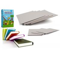 China Good Stiffness Uncoated Grey Paperboard Book Boards For Binding on sale