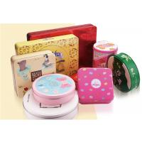 Buy cheap Biscuit Tin Can Custom Packaging Boxes Customized Mint Metal With Different from wholesalers