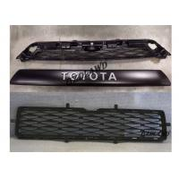 China Car Exterior Parts Black Front Grille TRD PRO Style For Toyota 4Runner 2014-2018 wholesale