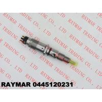 Quality BOSCH Genuine common rail injector 0445120059, 0445120231 for Cummins 4945969, 3976372, 5263262 for sale