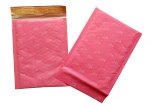 China 340mm Length 250mm Wide Red Kraft Bubble Mailer wholesale