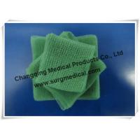 China EU Standard Pre - cut Green Surgical Absorbent Cotton Gauze Pads Swab wholesale