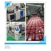 Quality plastic PVC  ASA corrugated roofing plate extrusion line for sale