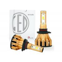 China All In One Aluminum Car LED Headlight Bulbs Tri Color H4 H7 9005 9006 DRL 25W 2500LM on sale