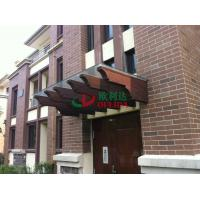 China Prefab Waterproof Porch Wall Mounted Pergola WPC Highly Resistant To Termites wholesale
