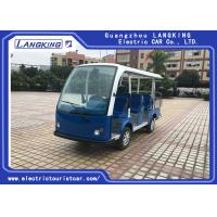 China Multi - Purpose Electric Sightseeing Bus 11 Seater with a Cargo Box Tourist Coach on sale