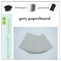 China grey paperboard/cardboard/paperboard factory+grey chipboard/grey carton board/grey carton board/carton gris on sale