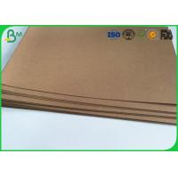 "Good Stiffness Brown Kraft Liner Paper 36"" 300gsm Tear Proof For Handbag"