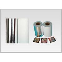 Non Toxic Vacuum Metallized Paper , Ink Retention Lamination Paper Roll For Beer for sale