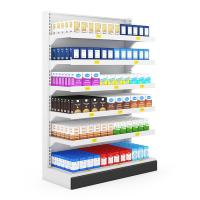 China Cosmetic modern display shelf  for large breasts wholesale