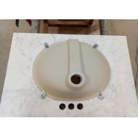 China Bathroom Bianco Carrara marble vanity tops 22 x 31 with Basin Attached on sale