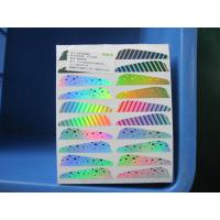 China Hologram Reflective Side Minnow Labels For Fishing wholesale