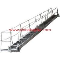 China Marine accommodation ladder, wharf ladder, rope ladder,ship embarkation ladder,ship draft ladder,gangway ladder wholesale