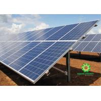 Buy cheap Convinced Ground Solar Panel Rail Mounting System Pre - Assembly And Flexibility from wholesalers