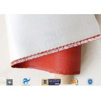 China 0.45mm 470gsm Fiberglass Fabric Fireproof Insulation Material With Silicone Coated on sale